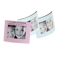 "2-Way 2.5"" x 3.5"" Pastel Photo Frame"