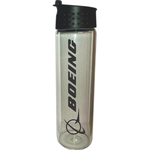 18 oz. Hydration Glass Bottle with Flip Top