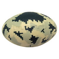 Squeezies® Camo Football Stress Reliever