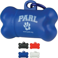 "Pickup Tote Dog ""Pickup"" Bag Dispenser"