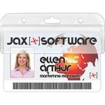 Quick Scan ID Badge Holder
