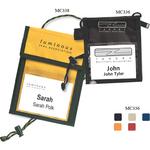 Small Tradeshow Badge Holder Neck Wallet