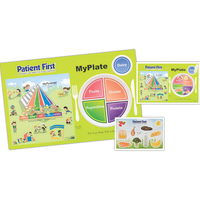 My Plate Healthy Eating Placemat - with Repo Sheet