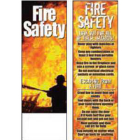 Fire Safety Bookmark