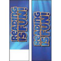 Reading is Fun Bookmark (Blue)