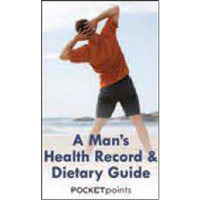 A Man's Health Record & Dietary Guide Pocket Pamphlet