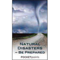 Natural Disasters-Be Prepared Pocket Pamphlet