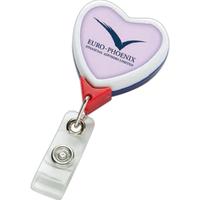 Jumbo Patriot Heart Badge Reel