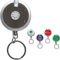 Round Light-Up Keyring