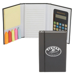 Calculator Jotter w/ Sticky Notes