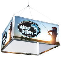 4-Sided Hanging Banner Display