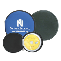 Neoprene cover 12 disc DVD CD holder - Clearance