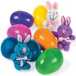 Plush Bunny in Easter Egg