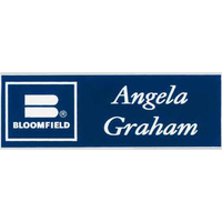 "Los Angeles Standard Plastic Name Badge (Standard 1"" x 3"")"
