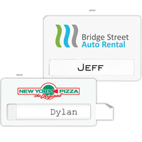 "Atlanta Economy Name Badge (Standard Size 1-1/2"" x 3"")"