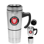 20 oz. Double Compartment Travel Mug