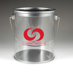 """5.125"""" H x 4.75"""" W Paint Can With Lid & Handle"""