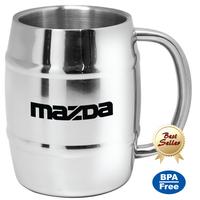 Dublin - 14 oz Stainless Steel Beer Mug