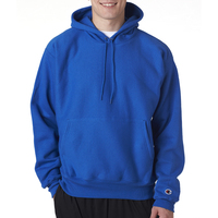 Adult Reverse Weave (R) Hooded Pullover Fleece