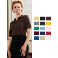 Ladies Silky Smooth Knit Polo
