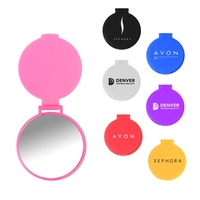 Compact Pocket Round Mirror