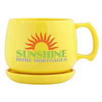 Nature Ad (TM) Corn Mug Souper & Coaster/Lid Set