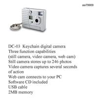 iBank® Keychain Digital Camera