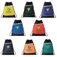 Headphone Port Drawstring Bag