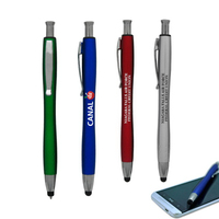 Stylus Click Ballpoint Pen with full color process