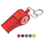 Translucent Color Whistle with Matching Bead