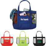 Surfside Mesh Accent Tote