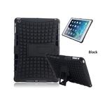 Hybrid Protection Kickstand Case For Apple ipad Air - BLACK