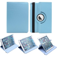 Apple iPad Air-2 Tablet 360 Degree Rotating Case - Blue