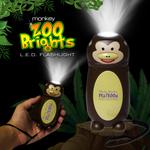 Monkey Zoo Brights Flashlight