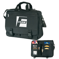 Expandable Computer Briefcase Bag