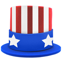USA Patriot Top Hat