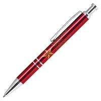 Click action aluminum pen