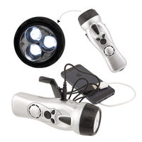 SURVIVOR 4-IN-1 DYNAMO FLASHLIGHT