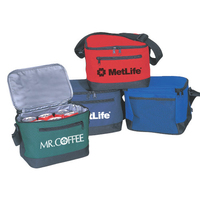 Poly 6 Pack Cooler Bag