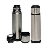 Black Band 25 oz Stainless Steel Vacuum Flasks