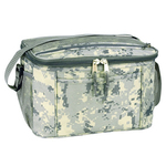 Poly Deluxe 12 Pack Digital Camo Cooler