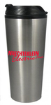 16 oz. Stainless Steel Tumbler w/Plastic Inner & Push On Lid