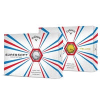 Golf Balls Callaway SUPERSOFT - Box of 12 balls