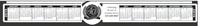 KC-700 Circle Monitor Calendar