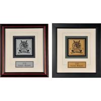 Double Hole Framed Award