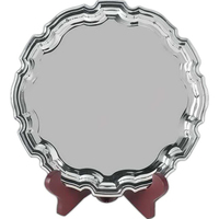 Nickel Plated Award Tray
