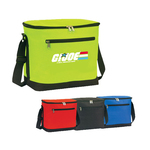 Poly Zipper Insulated Lunch Bag