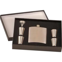 Stainless Steel Flask Set with Box