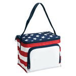 Poly Stars and Stripes Style Lunch Bag