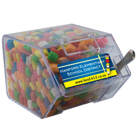 Large Candy Bin Dispenser with Chicle Chewing Gum